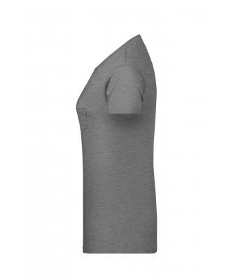 Sieviešu organiskās kokvilnas t-krekls ar krūšu kabatu 8003