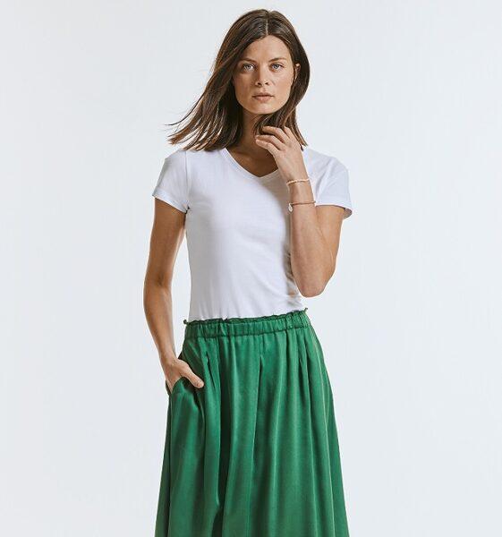 Organiskās kokvilnas sieviešu t krekls