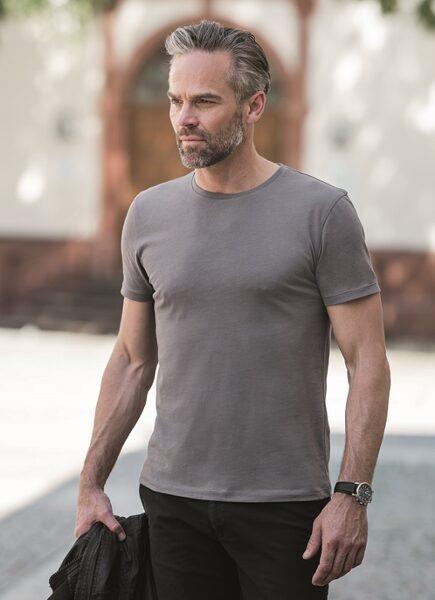 Oganiskās kokvilnas vīriešu t-krekls
