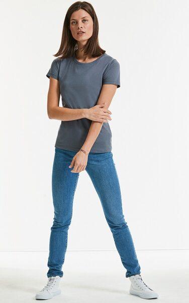 Organiskās kokvilnas sieviešu t-krekls