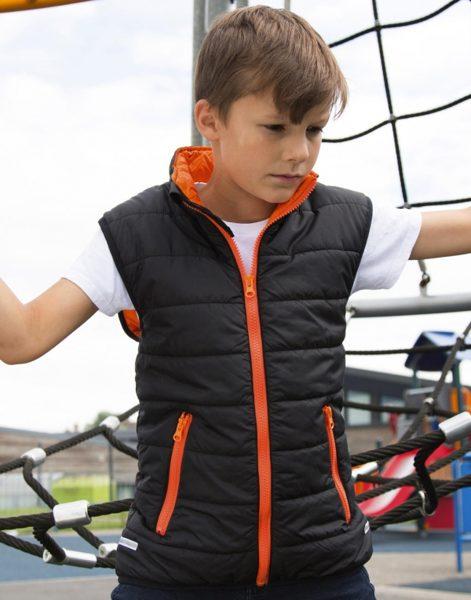 Polsterēta bērnu veste