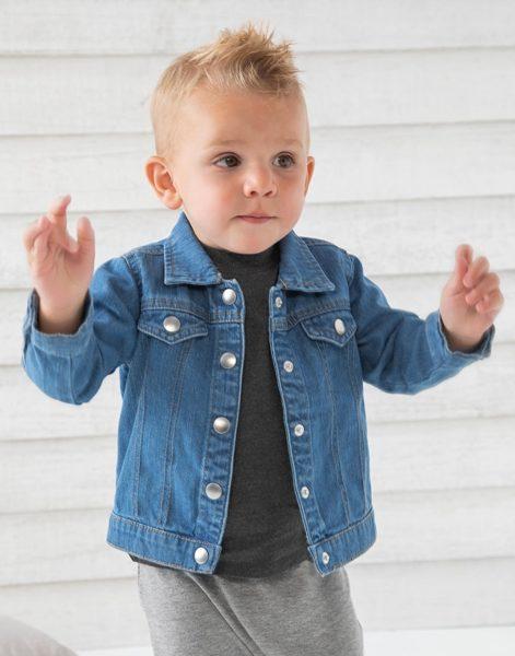 Organiskās kokvilnas džinsa jaka