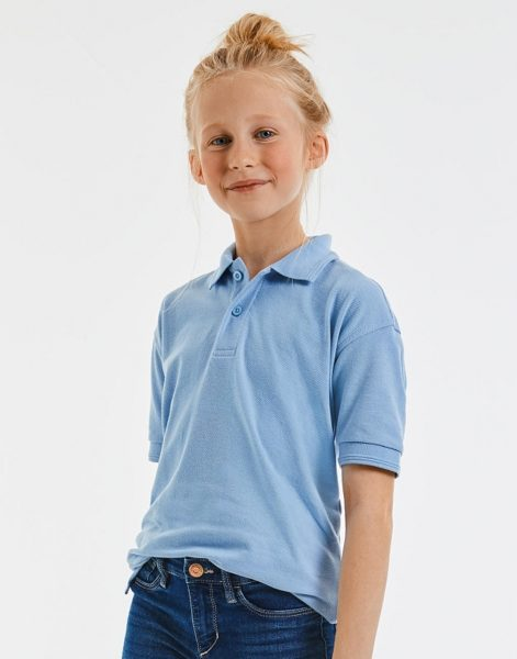 Bieza adījuma bērnu polo krekls