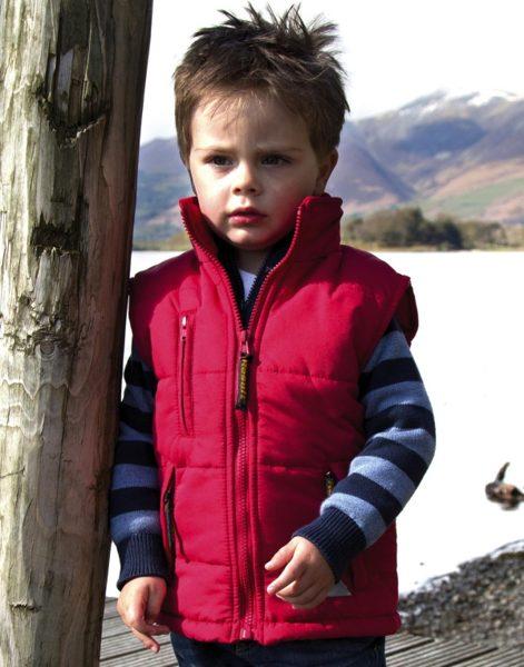 Bērnu siltināta veste
