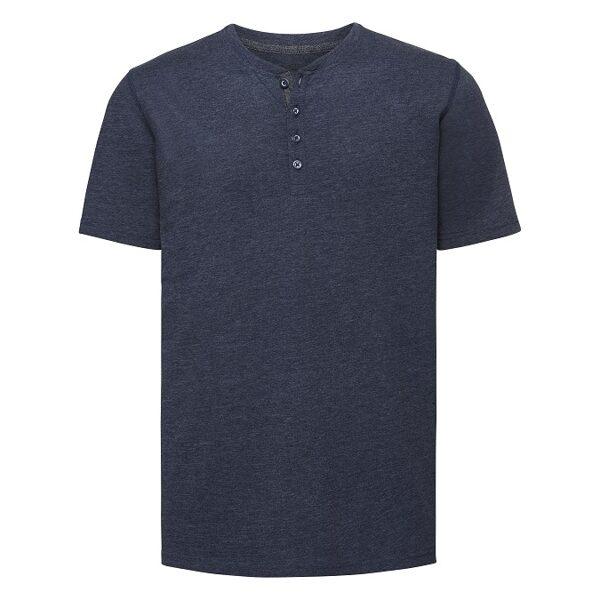Vīriešu Henley t-krekls