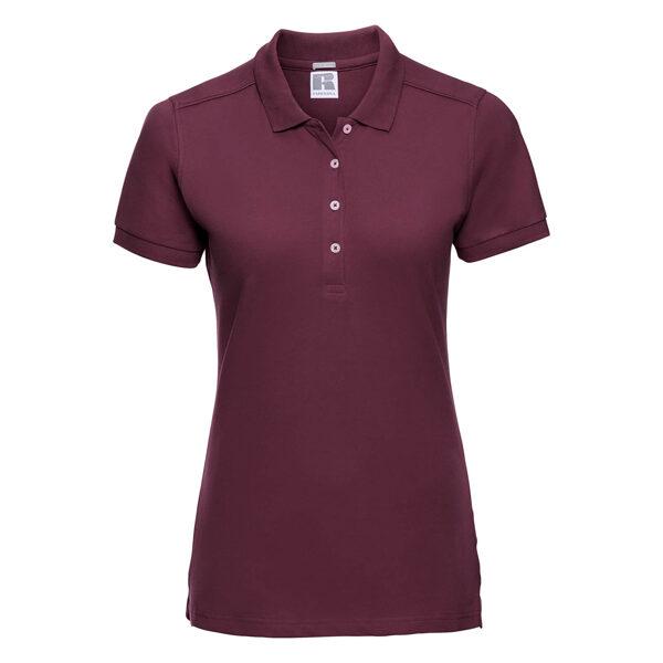 Pieguļošs sieviešu polo krekls