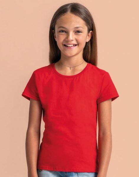 Meiteņu Iconic t-krekls